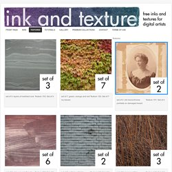 Textures : Ink And Texture