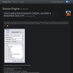 [textures/photoshop] créer, ouvrir & modifier des vtf - Source Engine