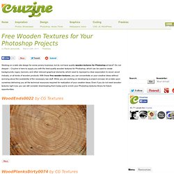 Free Wooden Textures for Your Photoshop Projects