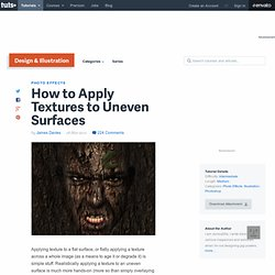 How to Apply Textures to Uneven Surfaces