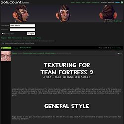 Texturing for Team Fortress 2: A Short Guide