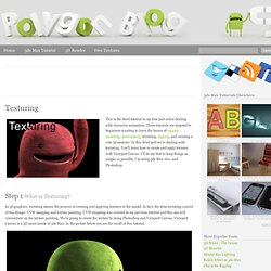 Texturing « Polygon Blog – 3ds Max Tutorials