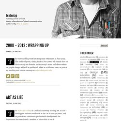 textwrap: June 2012