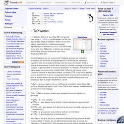 TeXworks - LaTeX