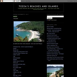 Tezza's Beaches and Islands