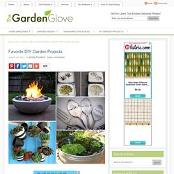 TGG Fav Five: DIY Garden Projects