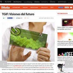TGIF: Visiones del futuro