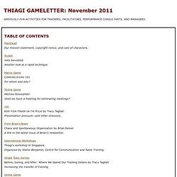 TGL: November 2011