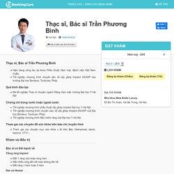 Thạc sĩ, Bác sĩ Trần Phương Bình