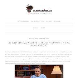 Les Pad Thaï aux crevettes de Sheldon ~ The Big Bang Theory