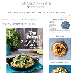 Thai Peanut Spaghetti Squash
