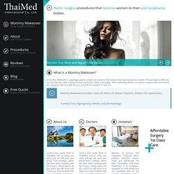 Plastic Surgery in Thailand - thaimakeover.com