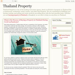 Thailand Property: What is the Process of Buying a Property in Thailand During Covid-19 Pandemic?