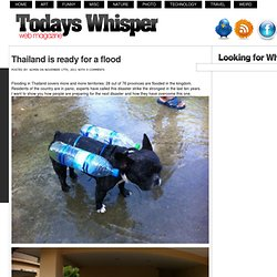 Thailand is ready for a flood