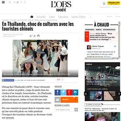 En Thaïlande, choc de cultures avec les touristes chinois