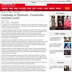 Cambodge et Thaïlande : l'intolérable tourisme sexuel - 27/03/2002