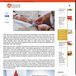 Thalassemia: Roadblock or Dead End - AbbloodAbblood