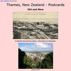 Thames New Zealand Postcards