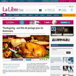 Thanksgiving : une fête de partage pour les Américains