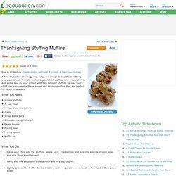 Thanksgiving Stuffing Muffins