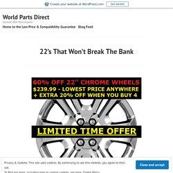 22's That Won't Break The Bank