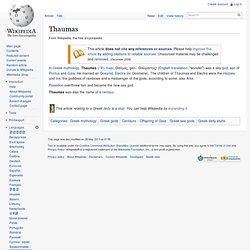 Thaumas