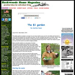 The $1 garden by Jonathan Nunan Issue #122