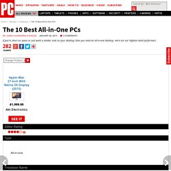 The 10 Best All-in-One PCs