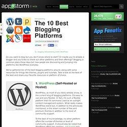 The 10 Best Blogging Platforms
