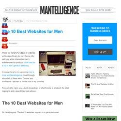 The 10 Best Websites for Men