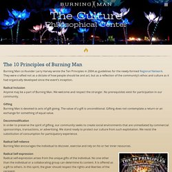 The 10 Principles of Burning Man