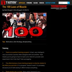 The 100 Laws of Muscle