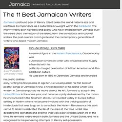 The 11 Best Jamaican Writers