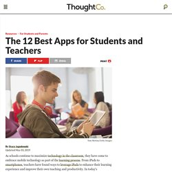 The 12 Best Apps for Educators