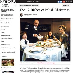 The 12 Dishes of Polish Christmas