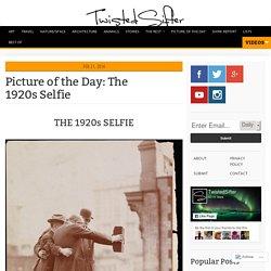 The 1920s Selfie