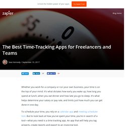 The 20 Best Time-Tracking Apps