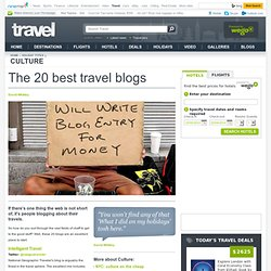 The 20 best travel blogs