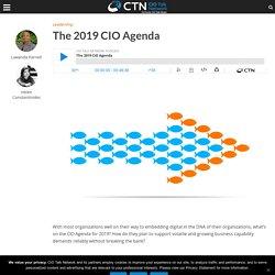 The 2019 CIO Agenda