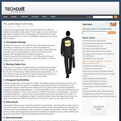 The 25 Best High-Tech Pranks