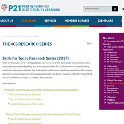 The 4Cs Research Series