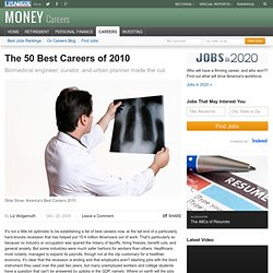 The 50 Best Careers of 2010
