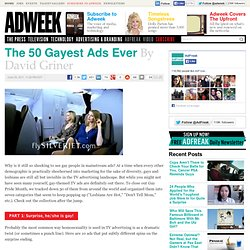 The 50 Gayest Ads Ever
