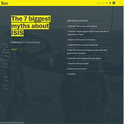 Myth #1: ISIS is crazy and irrational - The 9 biggest myths about ISIS