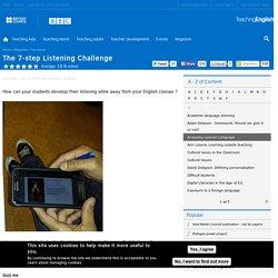 The 7-step Listening Challenge