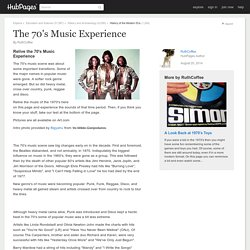 The 70's Music Experience