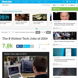 The 8 Hottest Tech Jobs of 2014
