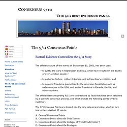 The 9/11 Consensus Points