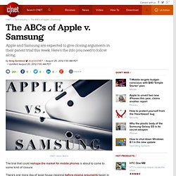 The ABCs of Apple v. Samsung | Apple