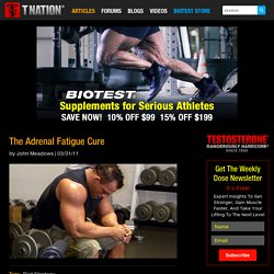 The Adrenal Fatigue Cure